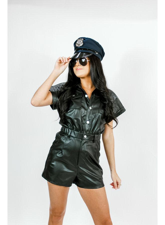 Let's Be Cops Romper