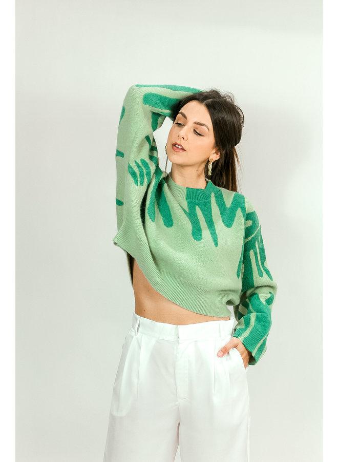 All Swirls Sweater