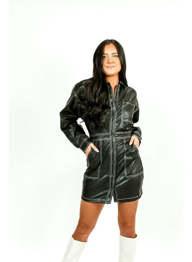 Bad Boyz Leather Dress