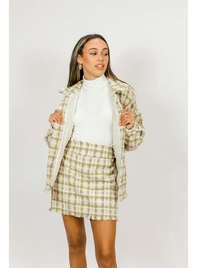 Breadwinner Tweed Skirt