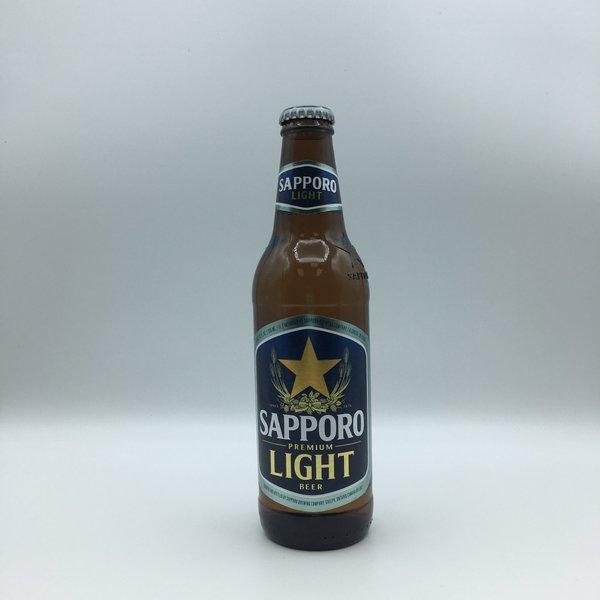Sapporo Premium Light Beer 6PK 12OZ