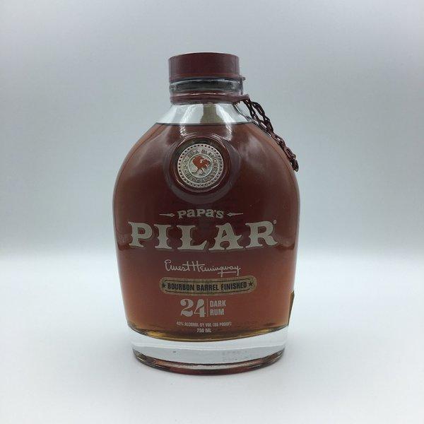 Papa's Pilar Bourbon Barrel Finished Dark Rum 750ML