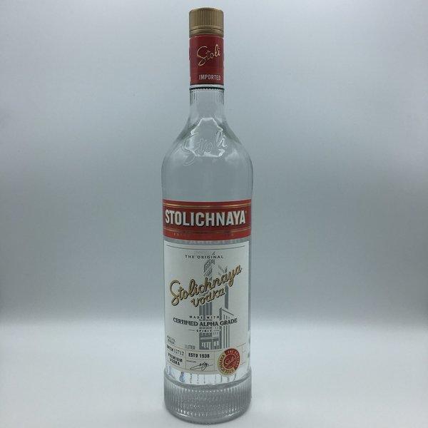 Stolichnaya Vodka Liter