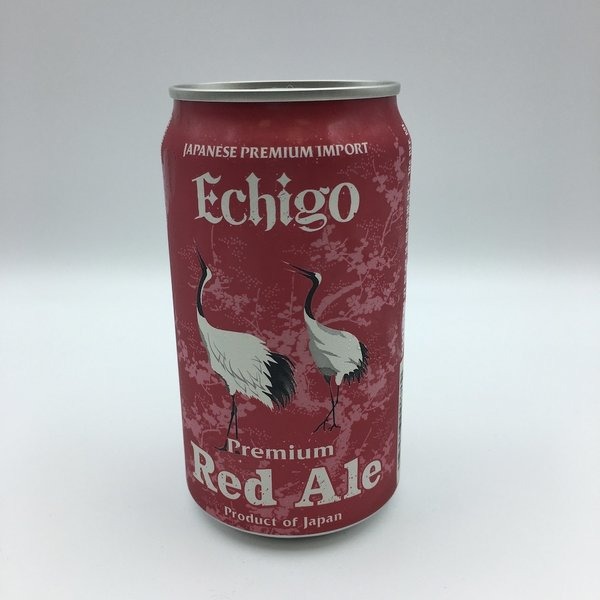 Echigo Red Ale Single Can 12OZ