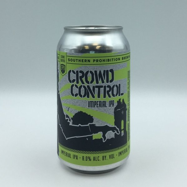 Southern Prohibition Crowd Control Imperial IPA 19.2OZ