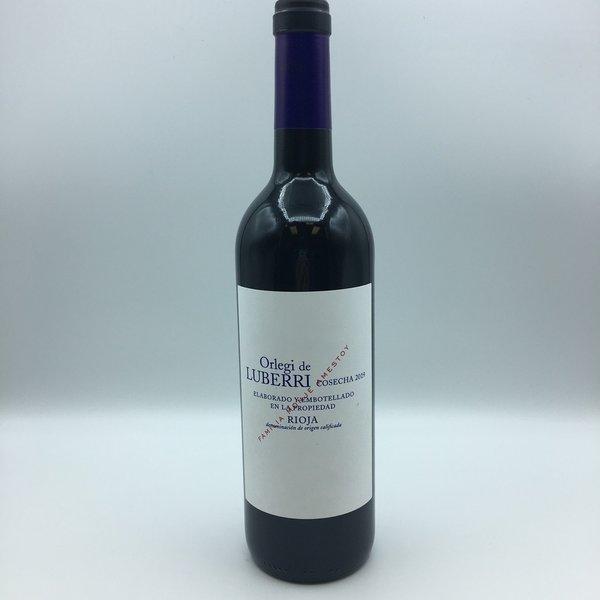 Orlegi de Luberri Rioja 750ML Tempranillo/ Viura
