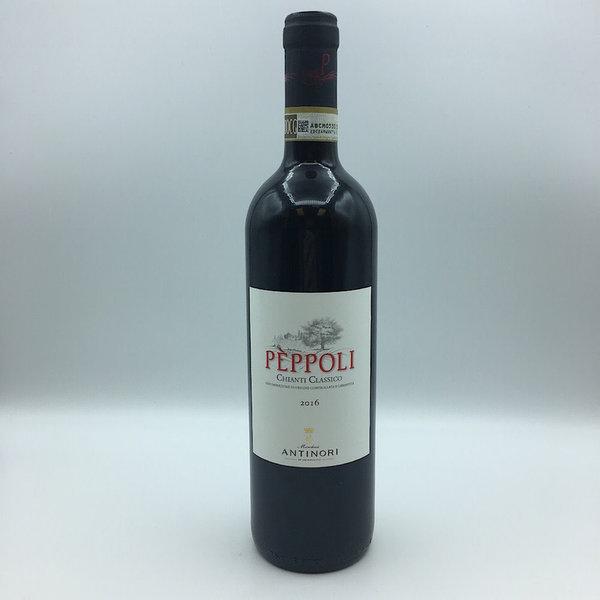 Antinori Peppoli Chianti Classico 750ML Sangiovese/ Merlot/ Syrah