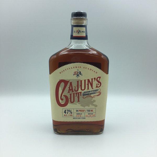 Distillerie Acadian Cajun's Cut Louisiana Straight Bourbon Whiskey 750ML
