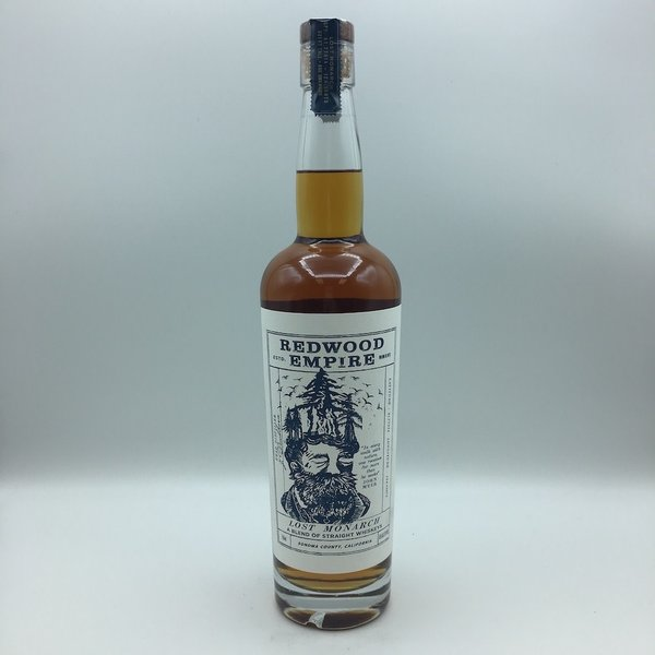 Redwood Empire Lost Monarch Straight Whiskey Blend 750ML