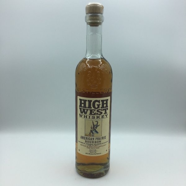 High West Whiskey American Prairie Bourbon 750ML