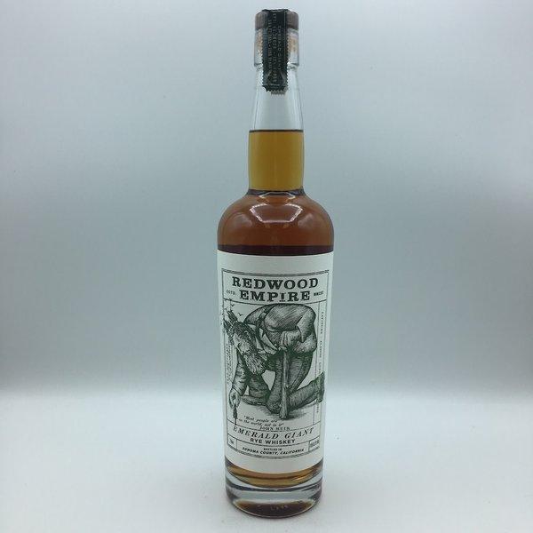 Redwood Empire Emerald Giant Rye Whiskey 750ML