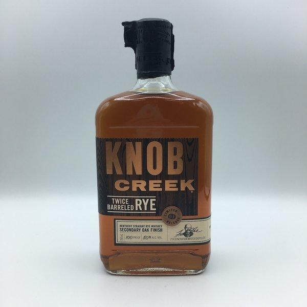 Knob Creek Twice Barreled Rye 750ML