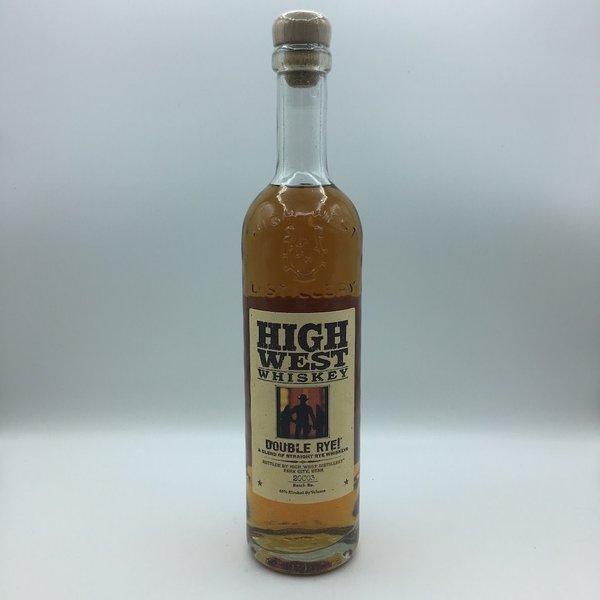 High West Whiskey Double Rye 750ML