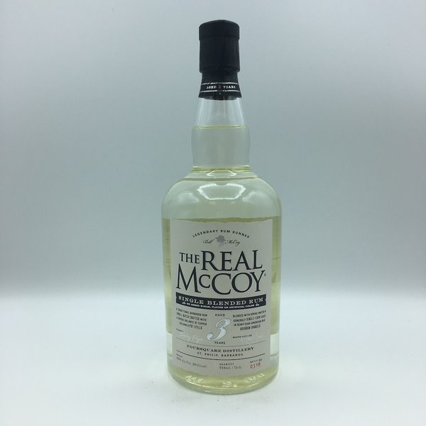 The Real McCoy Single Blended 3 Year Rum 750ML