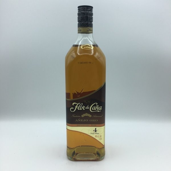 Flor de Cana 4YR Gold Rum Liter