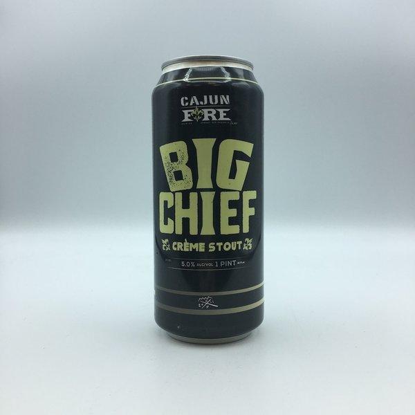 Cajun Fire Big Chief Creme Stout 4PK 16.9OZ