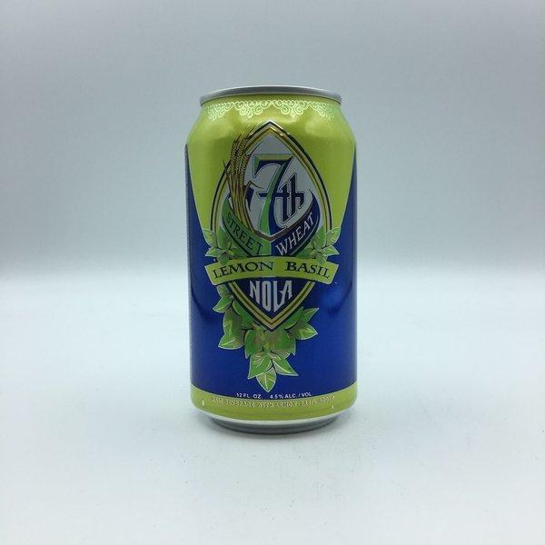 NOLA 7th Street Wheat Lemon Basil Cans 6PK 12OZ