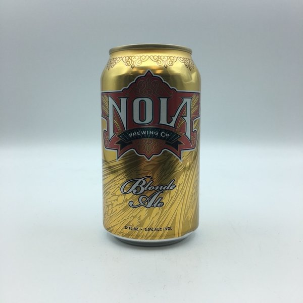 NOLA Blonde Ale Cans 6PK 12OZ