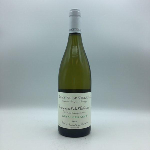 Domaine de Villaine Bourgogne Cote Chalonnaise Les Clous Aime 750ML Chardonnay