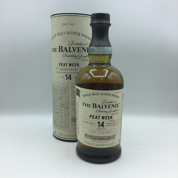 The Balvenie 14YRS Peat Week Single Malt Scotch Whisky