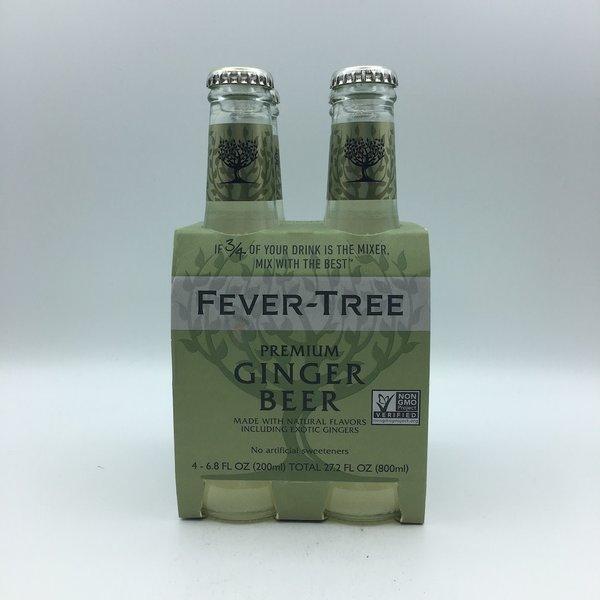 Fever Tree Ginger Beer 4PK 200ML