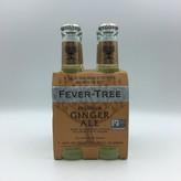 Fever Tree Ginger Ale 4PK 200ML