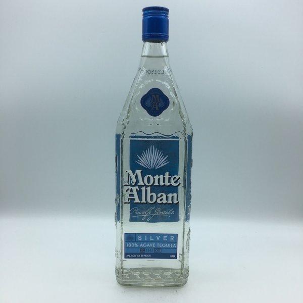Monte Alban Silver Tequila Liter