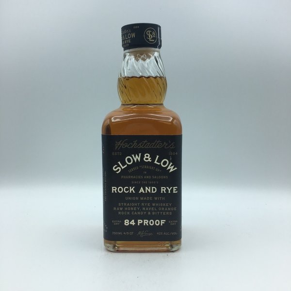 Hochstadter's Slow and Low Rye Whiskey 750ML