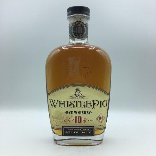 Whistlepig 10YR Straight Rye Whiskey 750ML