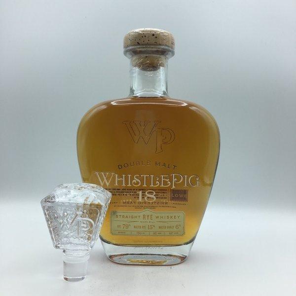 Whistlepig Rye 18YR Double Malt 750ML
