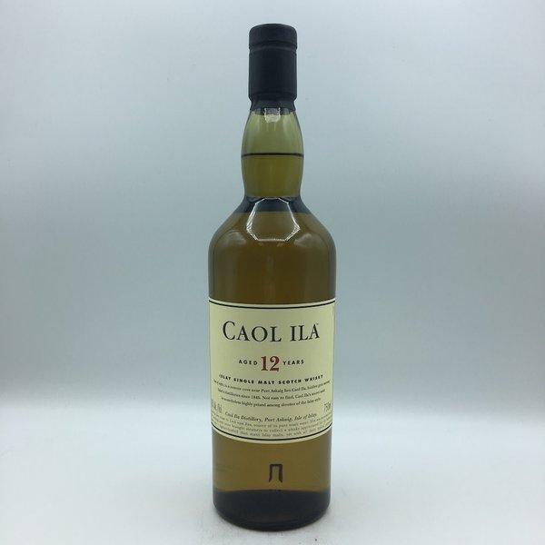 Caol Ila Islay 12YR Single Malt Scotch 750ML