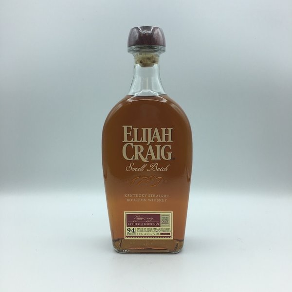 Elijah Craig Small Batch Bourbon Whiskey 750ML