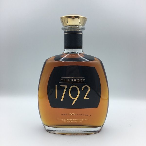 1792 Full Proof Bourbon Whiskey 750ML Elio's Store Pick