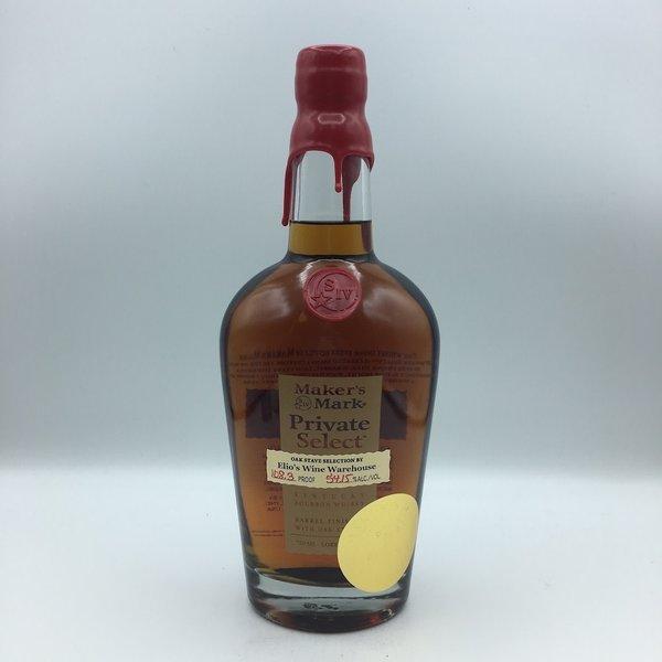 Maker's Mark Private Select Elio's Barrel Bourbon Whiskey 750ML