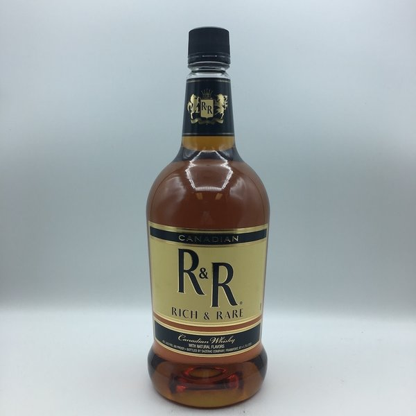 R&R Rich and Rare Canadian Whiskey 1.75L