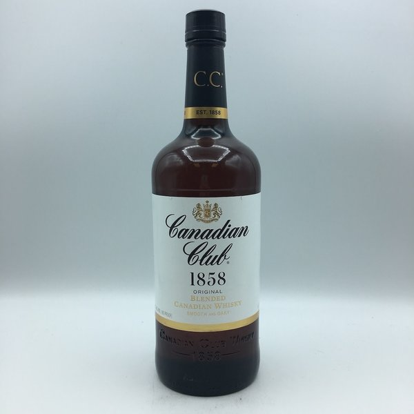 Canadian Club Whiskey Liter