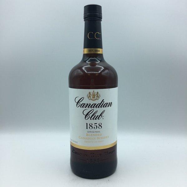Canadian Club Whiskey Liter