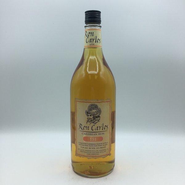 Ron Carlos 151 Rum Liter