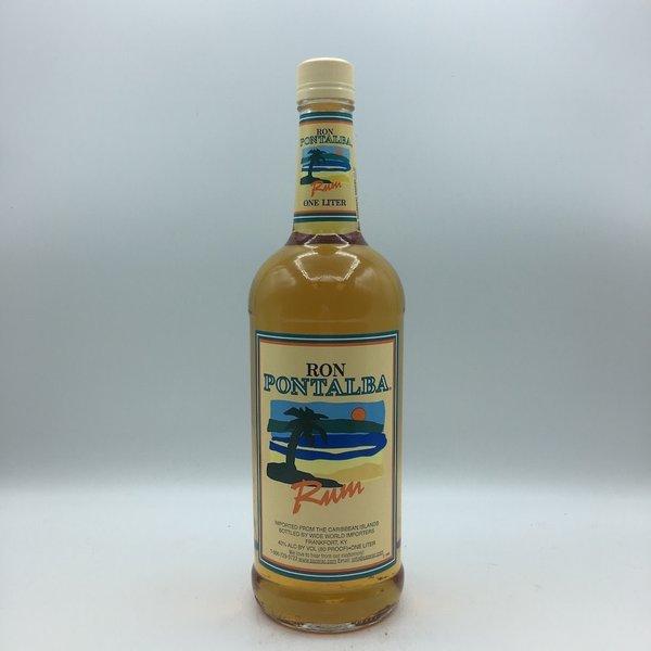 Ron Pontalba Gold Rum Liter
