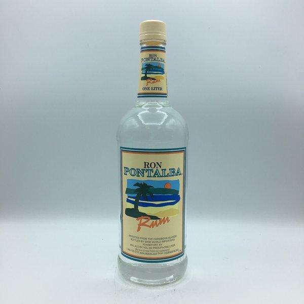 Ron Pontalba Silver Rum LIter