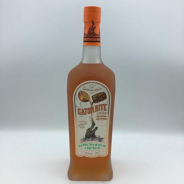 Bayou Louisiana Bite Gator Bite Satsuma Orange & Rum Liqueur Liter