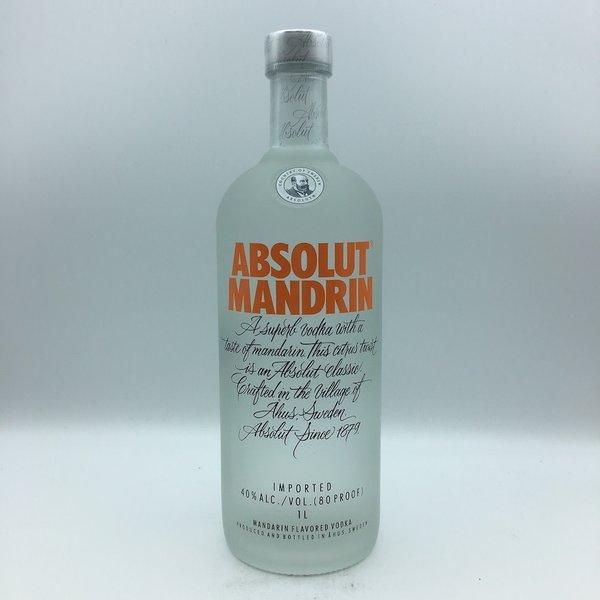 Absolut Mandrin Orange Vodka  Liter