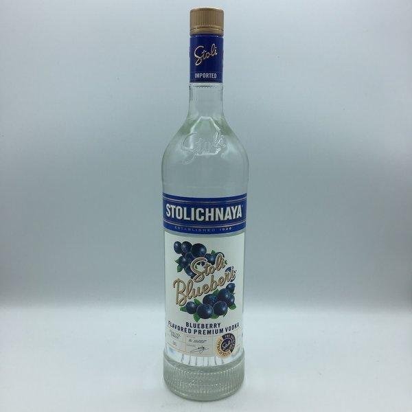 Stolichnaya Vodka Blueberi Liter
