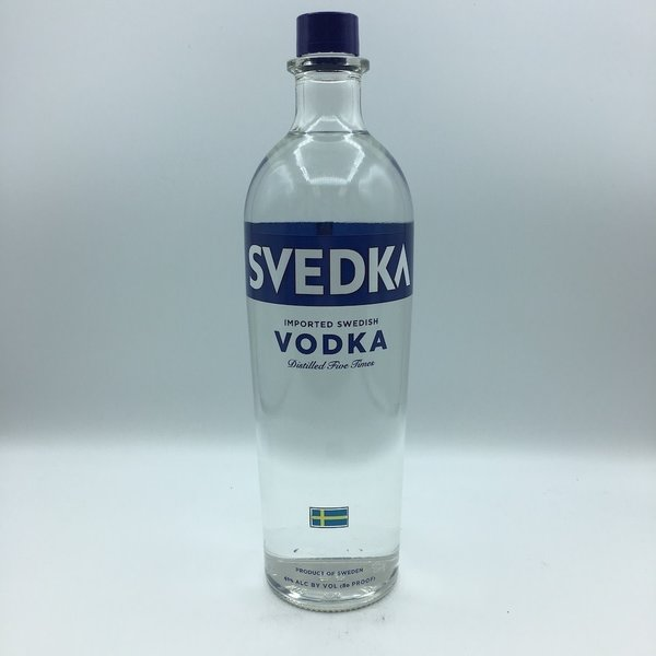 Svedka Vodka Liter