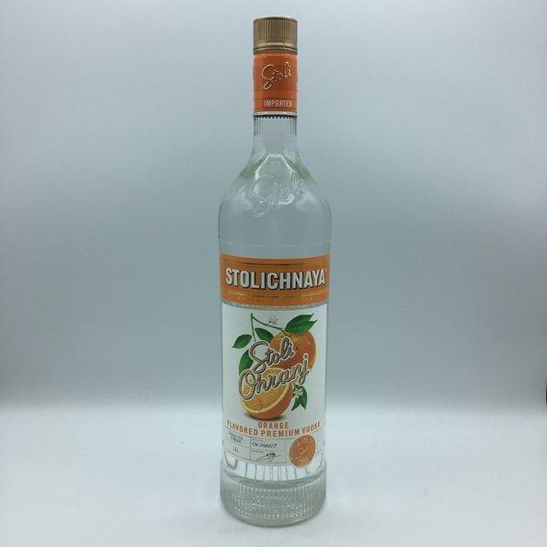 Stolichnaya Vodka Ohranj Liter
