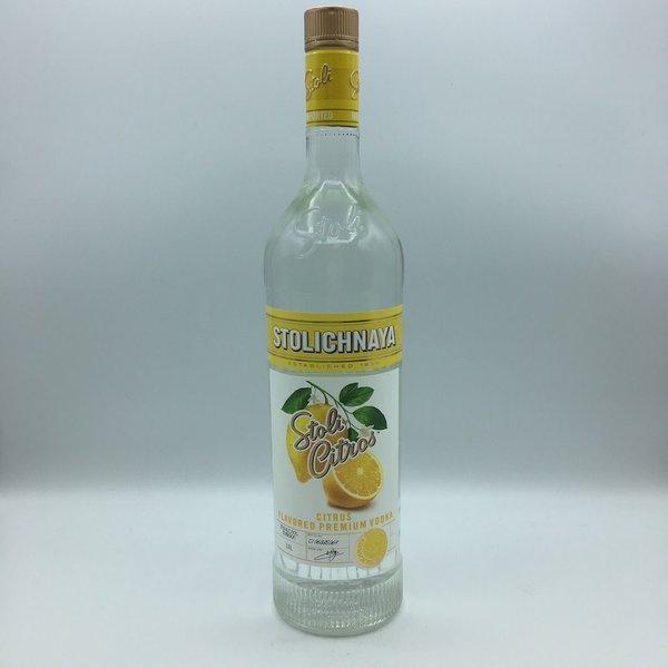 Stolichnaya Vodka Citros Liter