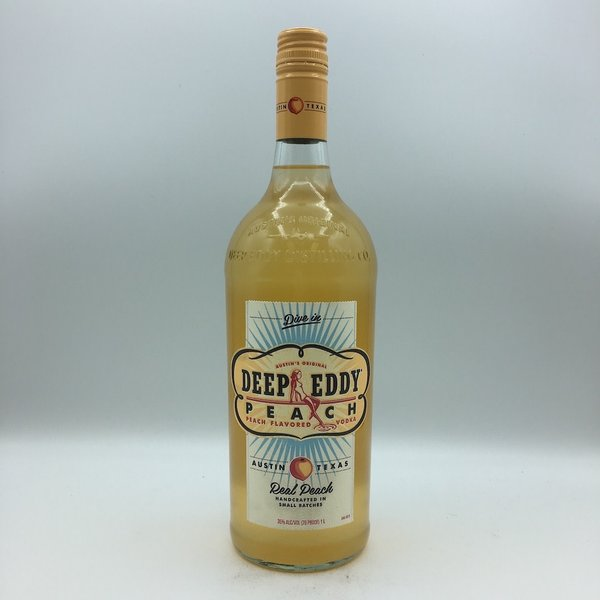Deep Eddy Peach Vodka Liter