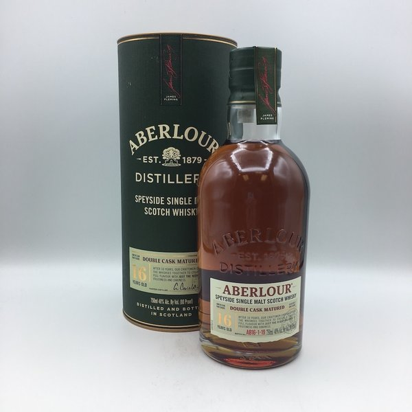 Aberlour 16YR Old Highland Single Malt Scotch Whisky 750ML