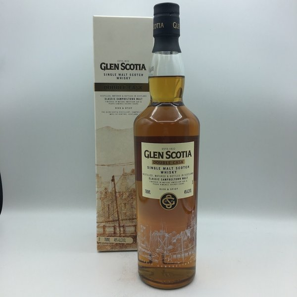 Glen Scotia Double Cask Single Malt Scotch 750ML