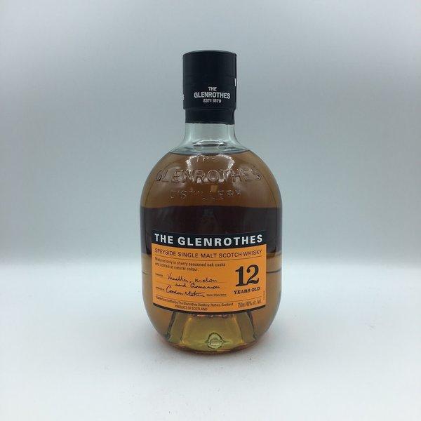The Glenrothes 12YRS Speyburn Single Malt Scotch Whisky 750ML